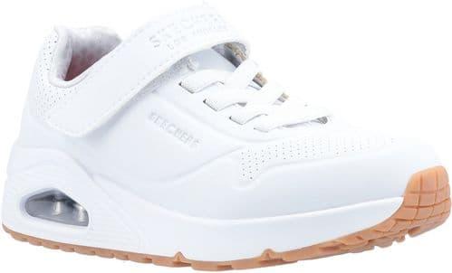 Skechers Uno Air Blitz Girls BTS White